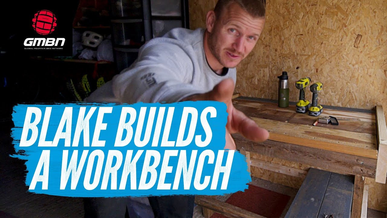 how to build a workbench   blake builds a workshop bench