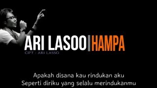 Ari Lasso - Hampa ( Lirik ) MP3