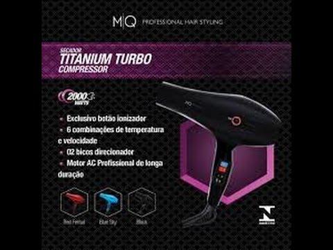8b584f83c Resenha secador Mq professional Titanium Turbo compressor - Cerejinha
