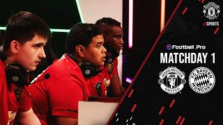 eFootball.Pro | Manchester United v Bayern Munich | Matchday One | eFootball PES2020 | esports