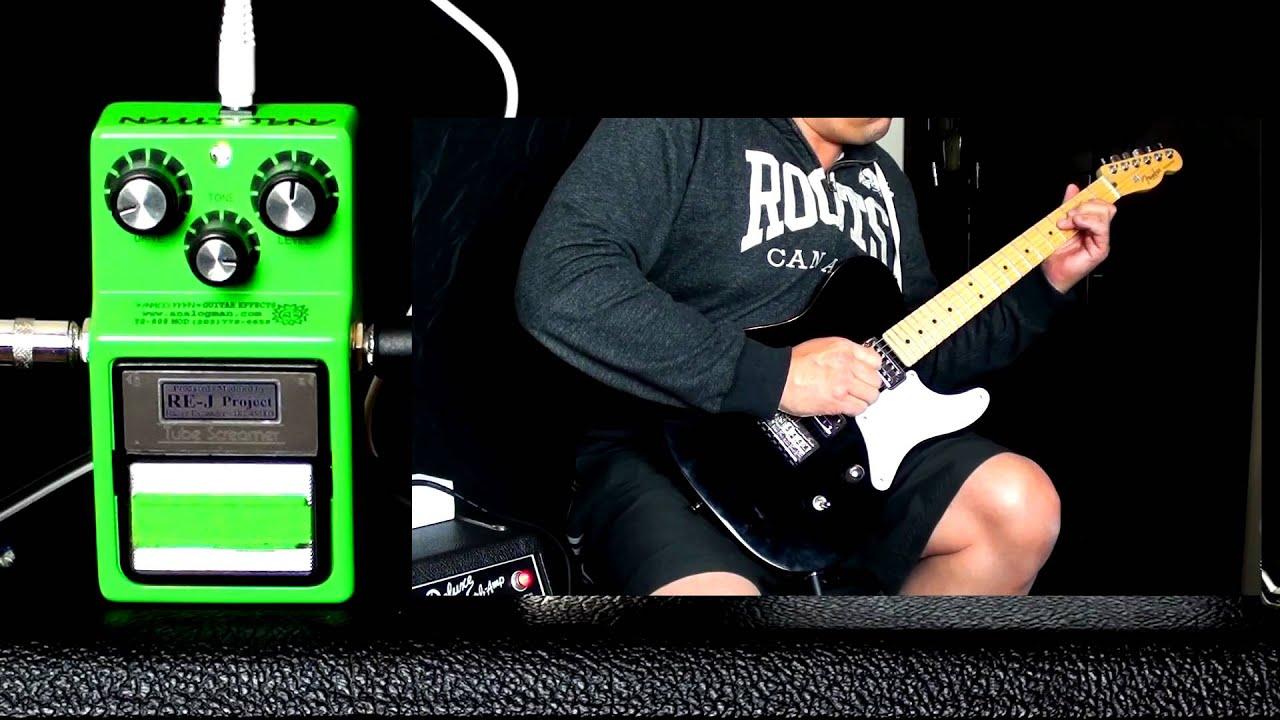 Ibanez Analogman Modded TS9/Silver Overdrive Pedal (Kenny Wayne Shepherd)
