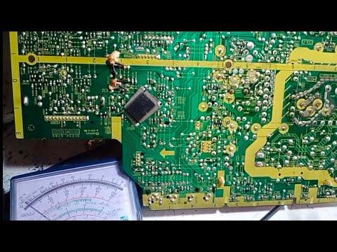 How to repair TVC model Panasonic 21inch