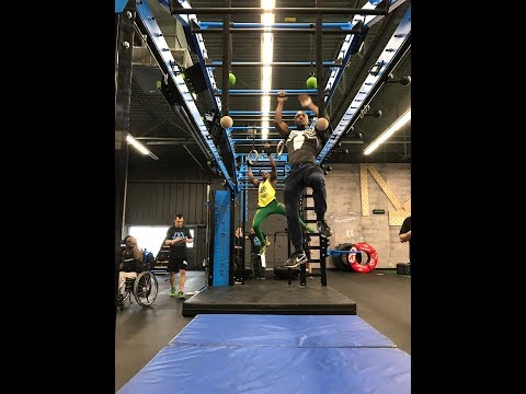 Gym Functional Fitness Obstacle Course Challenge