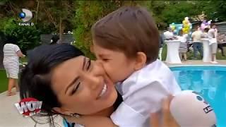 WOWBIZ (04.06.) - Andreea Mantea si Cristi Mitrea i-au facut o petrecere ca-n povesti fiul ...