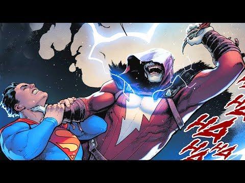 ШАЗАМ который СМЕЁТСЯ против Бэтмена и Супермена #1. Dc Comics.