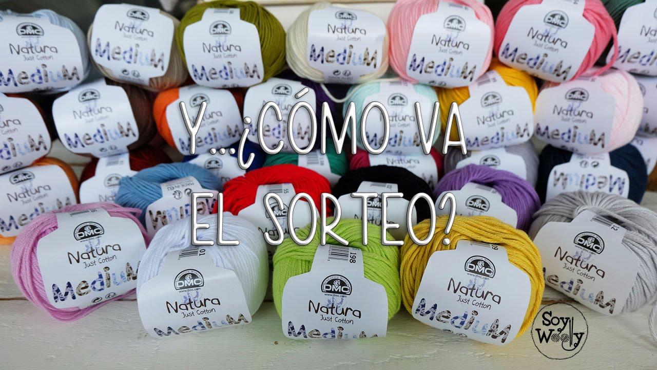 f30fd031a8 Actualización sobre el sorteo CERRADO de los 32 ovillos de algodón - YouTube