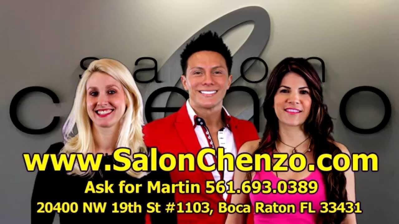 Hair Stylist At Salon Chenzo Boca Raton Explains How Natural Hair