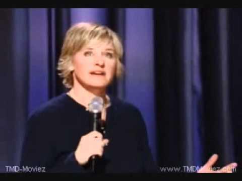 Ellen Degeneres Are We Gay Youtube
