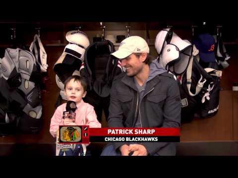 Joey the Junior Reporter: Girls and Beautiful Patrick Sharp