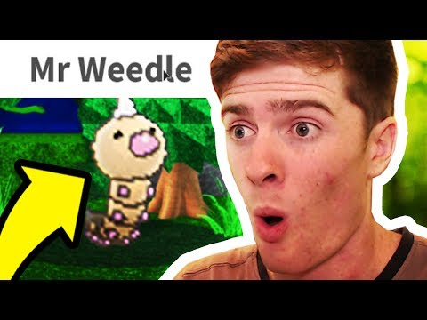 REACTING TO FIRST TIME I CAUGHT WEEDLE!