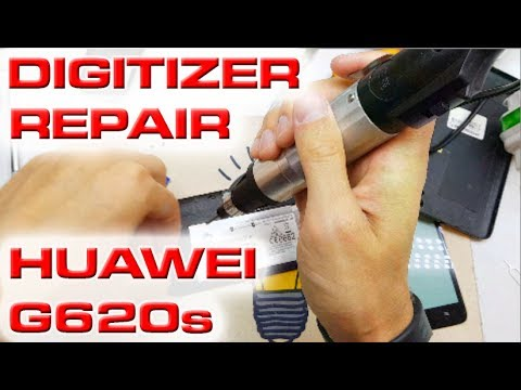 Huawei Ascend G620s disassembly & replacement of the touch screen