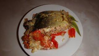 видео Жареное филе горбуши в цитрусовом маринаде