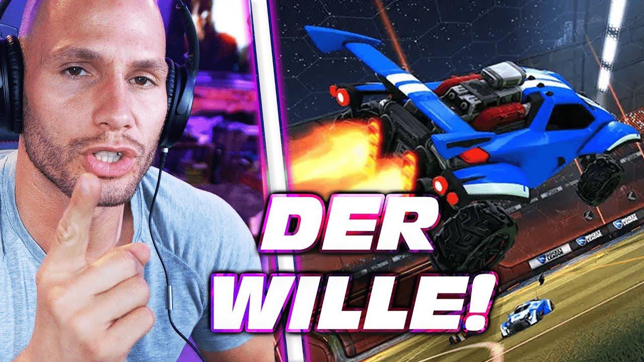 DER WILLE! - Rocket League   Flying Uwe
