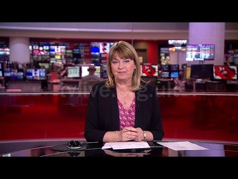 BBC News: 9th April 2017 - Maxine Mawhinney's final BBC One bulletin