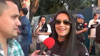 Andrea Araujo nos muestra su tanga de la suerte #RPL