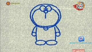 How to Draw Doraemon Easily Step by Step   Song in Hindi