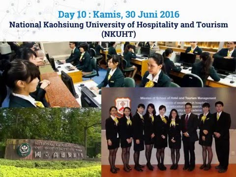 University Campus Tour In Taiwan 2016