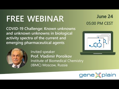 COVID-19 Challenge: Known & Unknown Unknowns In Biological Activity Spectra Of Pharmaceutical Agents