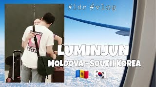 International couple meeting after 7 months. LDR. Moldova - South Korea. 국제커플.