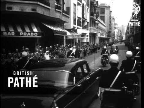 Lacoste Visits Oran (1956)