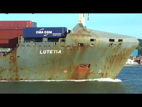 Navio LUTETIA 15/07/2017