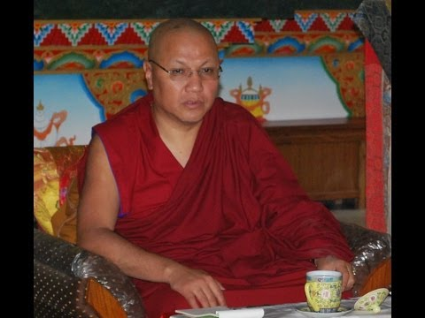 "Teachings on"" Tendrel"" interdependent - arising by H.E. Sangye Nyenpa Rinpoche"