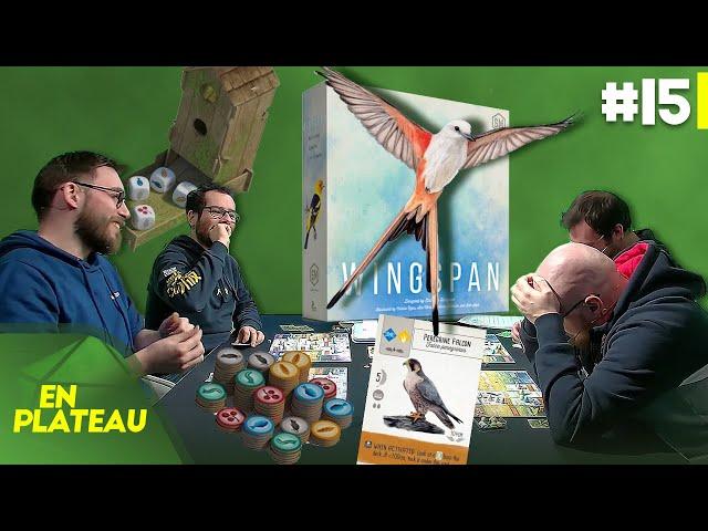 Découverte de Wingspan, un des jeux de l'année | En Plateau #15