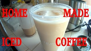 HOW TO MAKE ICED COFFEE THE EASY WAY!