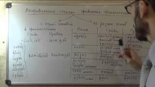 Древнегреческий: Неправильные степени сравнения прилагательных