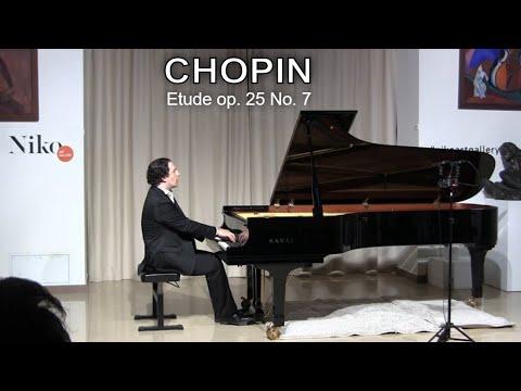 Chopin, Etude op. 25 No. 7 — Sergey Kuznetsov