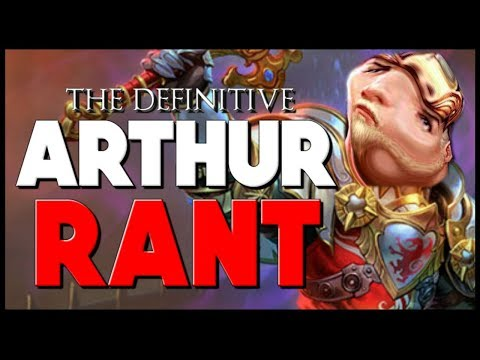 ALL CAPS TITLE CAUSE I HATE KING ARTHUR | Smite - King Arthur Rant