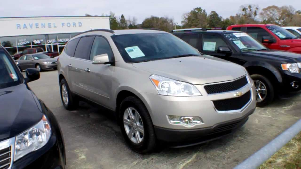 2010 Chevrolet Traverse Lt Review Charleston Suv Videos