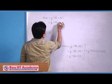 Vector Product - IIT JEE Main and Advanced Mathematics Video Lecture [RAO IIT ACADEMY]