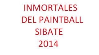INMORTALES DEL PAINTBALL sibate 14 sep Operacion Masterdom 2