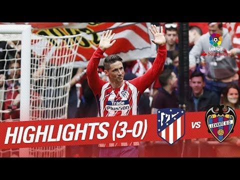 Resumen de Atlético de Madrid vs Levante UD (3-0)