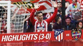 Highlights atlético de madrid vs levante ud (3-0)