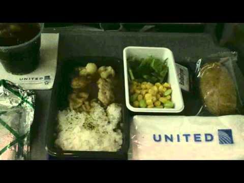 United Airlines UA6 Narita to Houston 6 Nov 2015