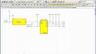 VHDL счетчик (Демонстрация VHDL схемы и загрузка в FPGA чип)