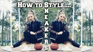 How to Style Sneakers | Nike Roshe, New Balance etc Thumbnail