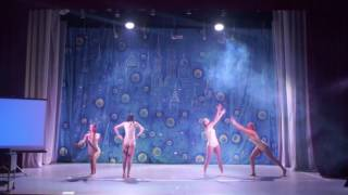 "Студия танца Малина. Постановка ""Гравитация"". Хореограф: Алина Петрова"