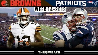 Check out the 2013 week 14 game highlights between cleveland browns and new england patriots! #classicgamehighlights #browns #patriotsthe nfl throwback i...