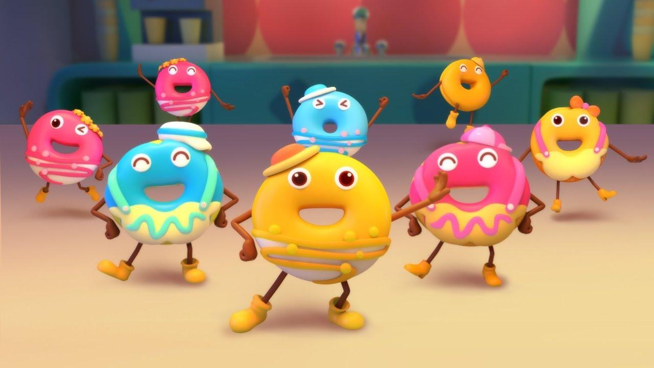 Lễ hội của những chiếc bánh vòng | Donuts song | Nhạc thiếu nhi vui nhộn | BabyBus