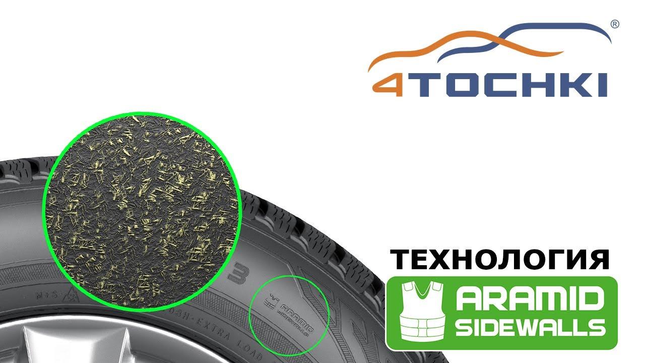 Технология Nokian Aramid sidewall на 4 точки. Шины и диски 4точки - Wheels & Tyres