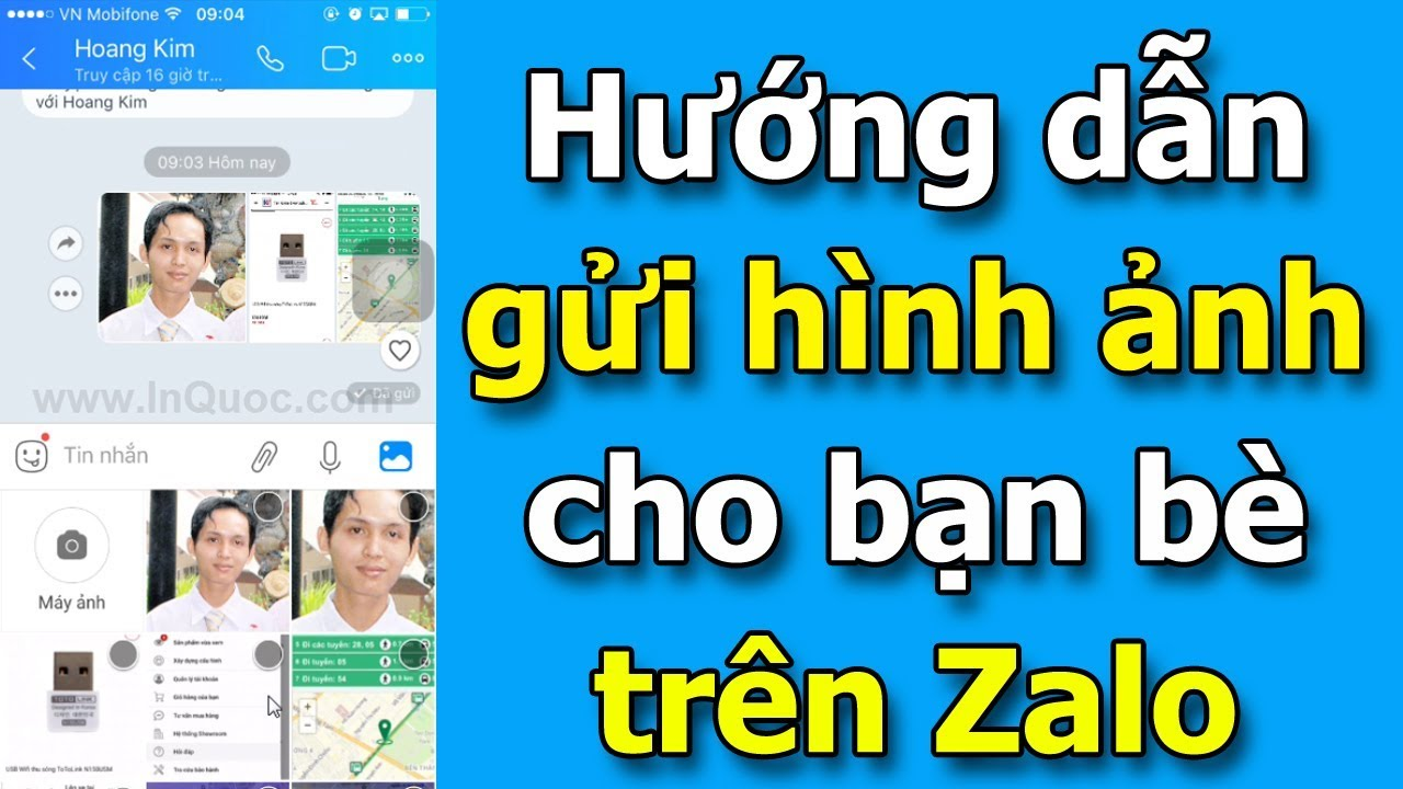 Hướng dẫn gửi hình ảnh cho bạn bè trên Zalo (Lưu ý: video này dành cho người chưa biết gì hết)