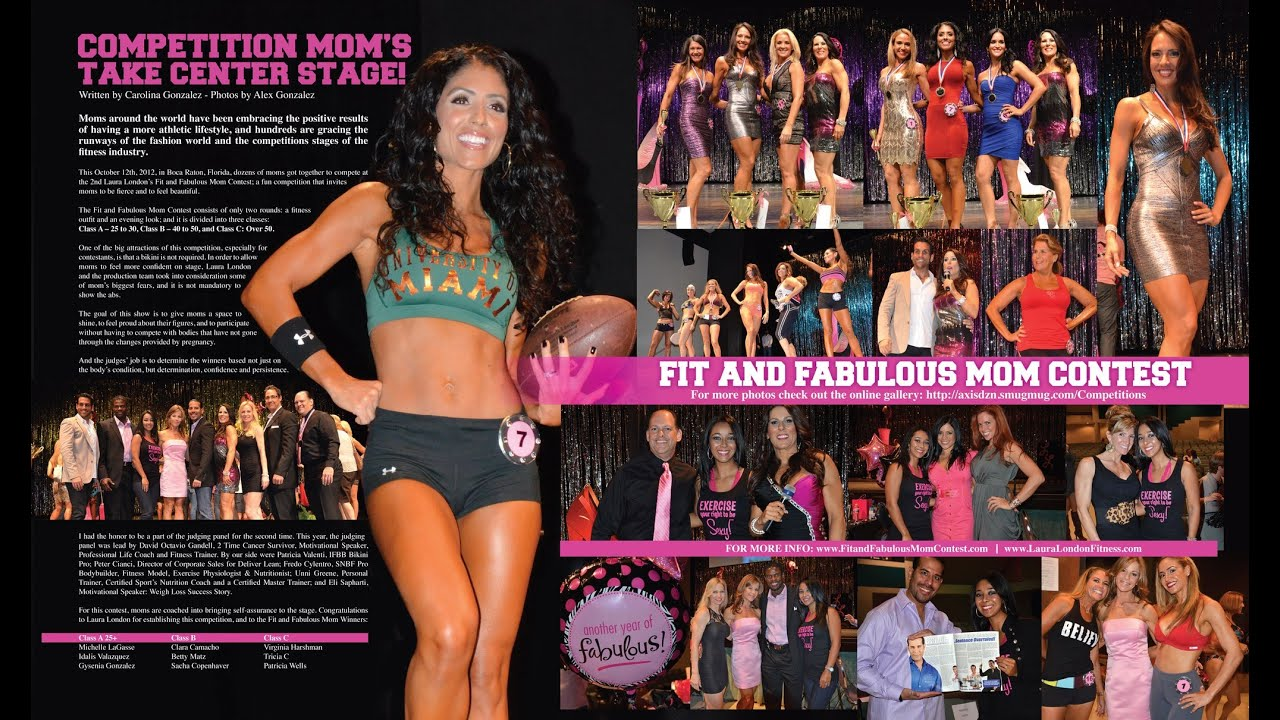 Fit And Fabulous Mom Dad And Couple Contest