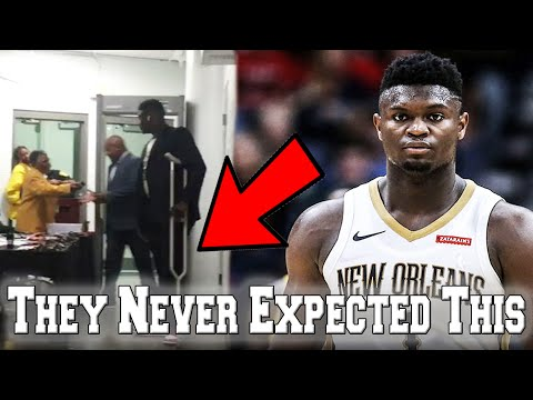 INSANE ZION WILLIAMSON INJURY UPDATE! HE NEEDS TO LEARN HOW TO WALK AGAIN