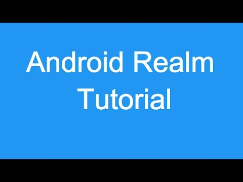 209 Android Realm Tutorial |
