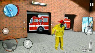 fire Truck Emergency 911 Rescue Simulator - Firefighter Extinguish Fire - Android Gameplay