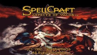 SpellCraft: Aspects of Valor gameplay (PC Game, 1992)
