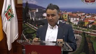Presentación de los presupuestos de La Orotava para 2018